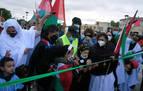 Unas 500 personas participan en la 'Marcha por la Libertad del Pueblo Saharaui'
