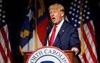 Trump reaparece en un mitin y exige 10 billones de dólares a China por la COVID