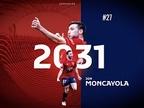Declaraciones de Moncayola tras su renovación con Osasuna