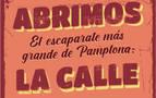 Los comercios de Pamplona vuelven a salir a la calle este viernes y sábado