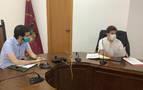 Santos estudia con el alcalde de Alsasua vías de colaboración en materia de Justicia y Políticas Migratorias