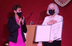 Teresa Catalán reivindica la música al recibir el Príncipe Viana de Cultura