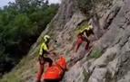 Rescatado un escalador tras sufrir una caída en Uharte Arakil