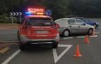 Detenido ebrio y drogado tras chocar con un árbol cuando huía de la policía en Ancín