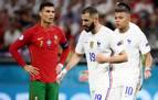 El pulso entre Cristiano Ronaldo y Benzema deja a Portugal tercera