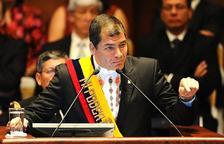Discurso de Correa ante la Asamblea Nacional