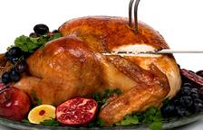 Una típica comida navideña.