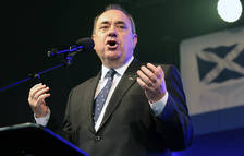 Foto de archivo del ministro principal de Escocia, Alex Salmond.