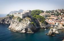 La fortaleza de Lovrijenac, en Dubrovnik, que sirve para recrear la Fortaleza Roja de Juego de Tronos.