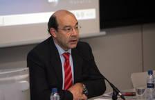 El periodista Ángel Expósito, en 2009, en la Universidad de Navarra