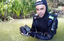Primer ejemplar vivo del molusco en Navarra