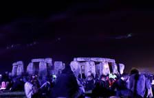 Stonehenge durante la celebración de un evento abierto al público.