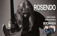 Cartel de la actuación de Rosendo en Burlada el próximo 1 de noviembre.