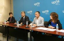 Sagrario Anaut, Alfonso Carlosena, Miguel Laparra y Nerea Zugasti.