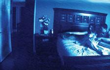 Cartel de una de las entregas de Paranormal Activity.