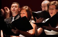 La Coral de Cámara de Pamplona ofreció un recital compuesto por 31 piezas musicales