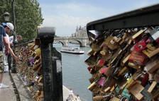 El Pont des Arts, en París.