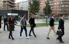 Los futbolistas Amaya, Molina y Figueras entran a declarar
