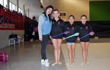 Encuentro de gimnastas
