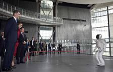 Felipe y Letizia con Naruhito y Masako y los embajadores