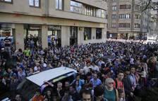 Llegada de la Korrika a Pamplona