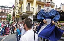 Gigantada en el Caso Antiguo de Pamplona