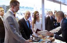 Los Reyes inauguran la Feria del Libro de Madrid