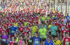 Todas las imágenes dela San Fermín Marathon 2017 celebrada en Pamplona