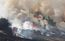 Incendio cerca de Cizur Menor
