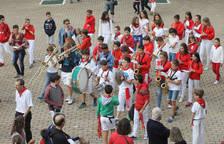 Concierto en fiestas de Barañáin de la Banda Joven