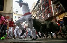 Segundo encierro de San Fermín 2017