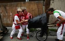 El encierro txiki, en imágenes