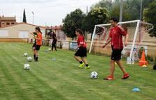 Fútbol femenino: jornada de tecnificación en Castejón