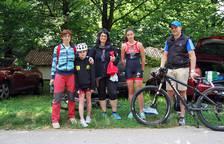 Cita deportiva con el triatlón de Sakana