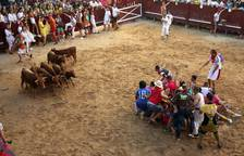 Vaquillas del Grand Prix en Puente la Reina