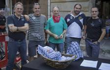 Chupinazo de las fiestas de Etxarri Aranatz