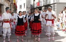 Procesión en las fiestas de Monteagudo