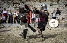 Fiesta medieval en Tiebas