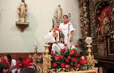 Procesión de San Blas en Milagro