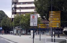 Obras en el centro de Pamplona