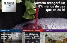 El inicio de la vendimia en Navarra, en el Diario DN+