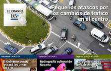 Los cambios en el tráfico en Pamplona, en el Diario DN+