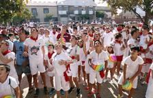 Cohete de las fiestas 2017 de Fontellas