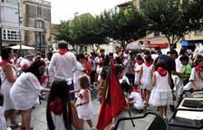 Día infantil en las fiestas de Peralta