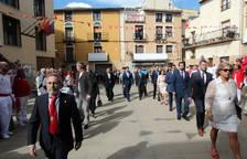 Procesión de la Virgen de la Barda en las fiestas de Fitero 2017