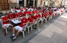Día de las peñas en las fiestas de Cintruénigo 2017