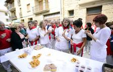Ronda de pinchos en las fiestas de Artajona