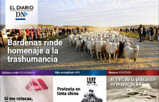 Bardenas, homenaje a la trashumancia, en el Diario DN+