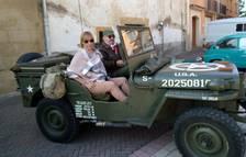 Muestra de vehículos antiguos en Astráin