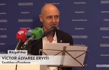 El candidato de 'Osasuna Cambio': Víctor Álvarez